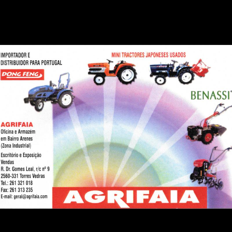 Agrifaia - Máquinas e Alfaias Agrícolas Lda